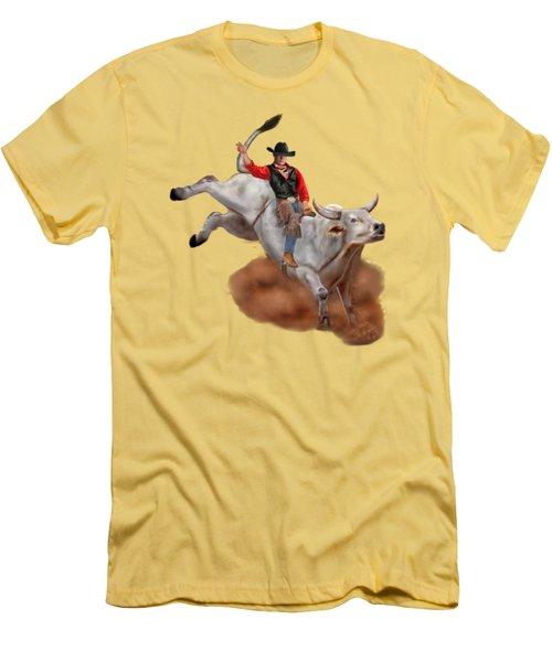 Ride 'em Cowboy Men's T-Shirt (Athletic Fit)