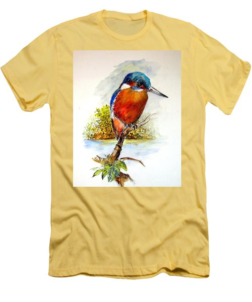 River Kingfisher Men's T-Shirt (Athletic Fit)