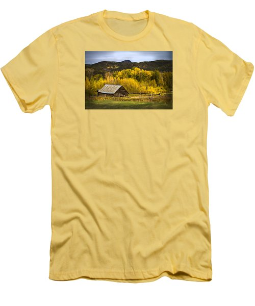 Road To Steamboat Lake Men's T-Shirt (Athletic Fit)