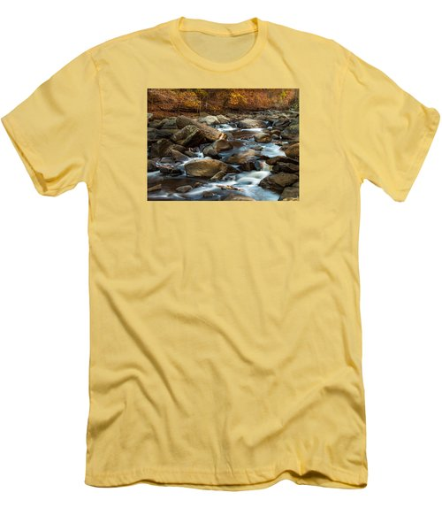 Rock Creek Men's T-Shirt (Slim Fit) by Ed Clark