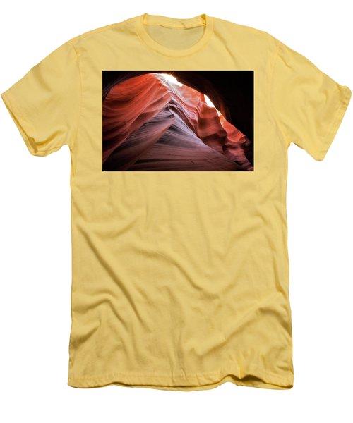 Rock Waves Men's T-Shirt (Athletic Fit)