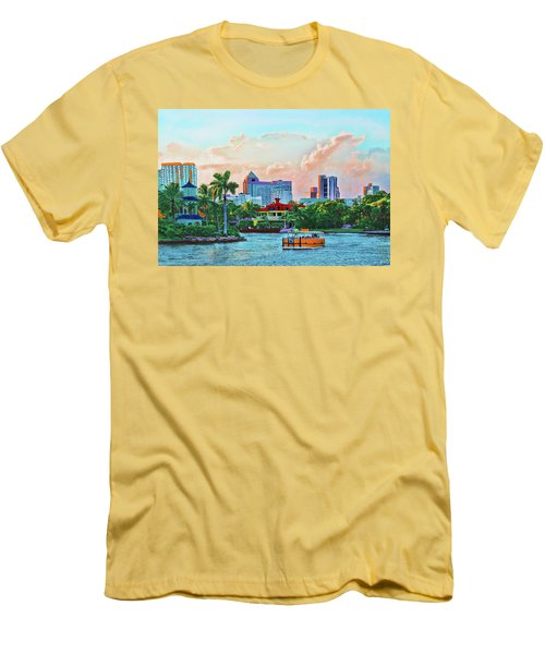 Rolling Down The New River Men's T-Shirt (Athletic Fit)