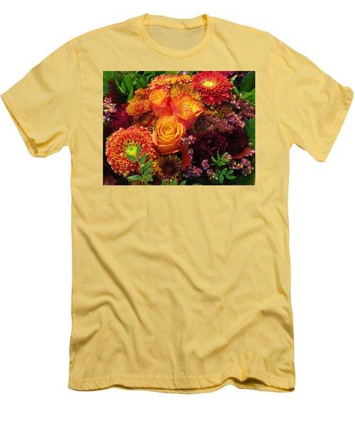Romance Of Autumn Men's T-Shirt (Athletic Fit)