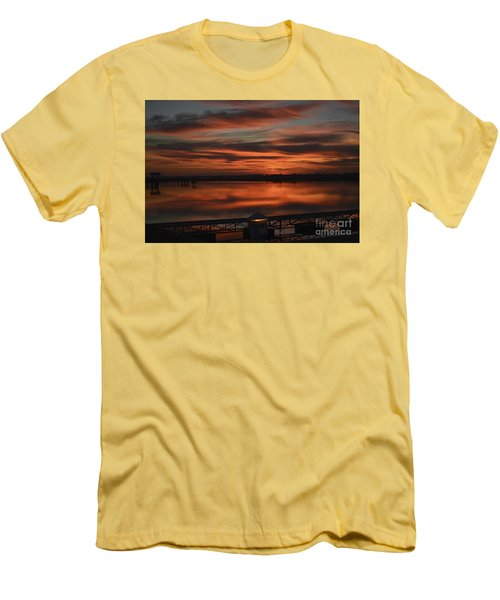 Room With A View Men's T-Shirt (Slim Fit) by Kathy Baccari