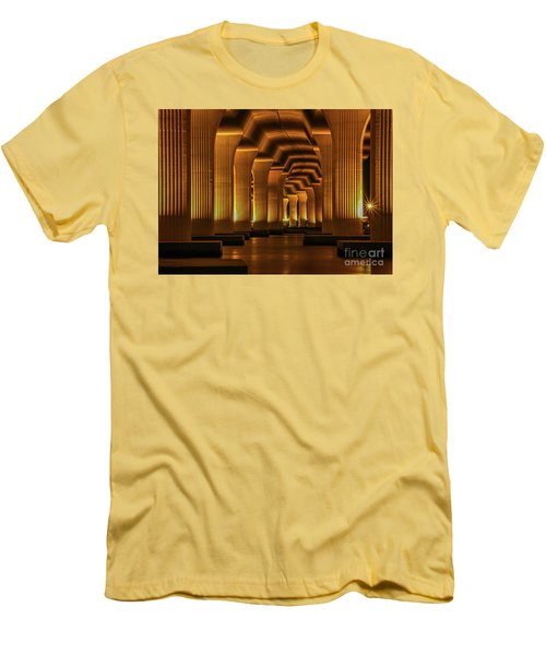 Roosevelt Night Shot Men's T-Shirt (Athletic Fit)