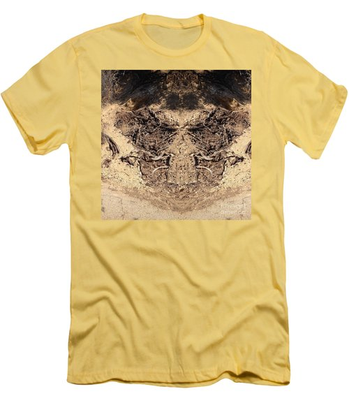 Men's T-Shirt (Slim Fit) featuring the photograph Roots by Nora Boghossian