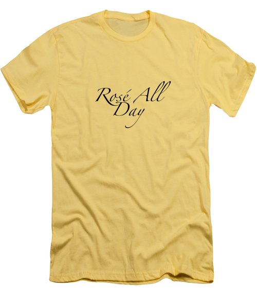 Rose All Day Men's T-Shirt (Athletic Fit)
