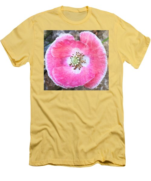 Rose Marble Men's T-Shirt (Athletic Fit)