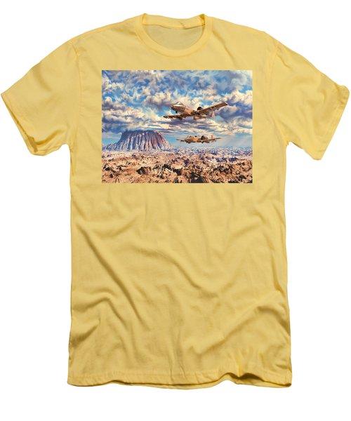 Rough Terrain Men's T-Shirt (Athletic Fit)