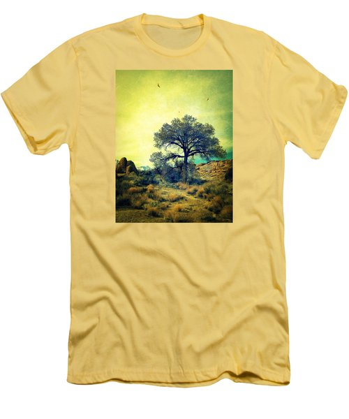 Men's T-Shirt (Slim Fit) featuring the photograph Rough Terrain by Glenn McCarthy Art and Photography