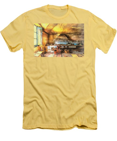Rural Culinary Atmosphere Nr 2 - Atmosfera Culinaria Rurale IIi Paint Men's T-Shirt (Athletic Fit)