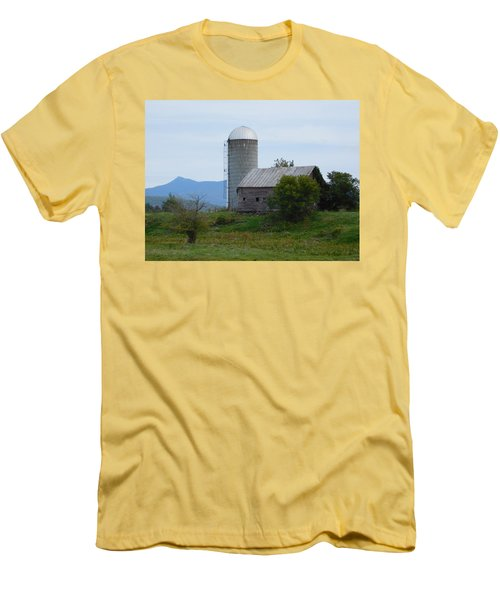Rural Vermont Men's T-Shirt (Slim Fit) by Catherine Gagne