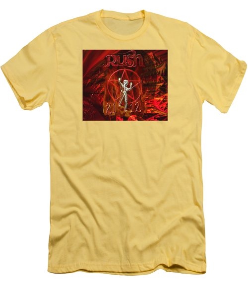 Rush 2112 Men's T-Shirt (Slim Fit) by Kevin Caudill