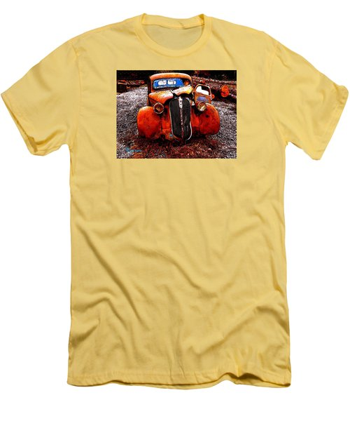 Men's T-Shirt (Slim Fit) featuring the photograph Rust In Peace by Sadie Reneau