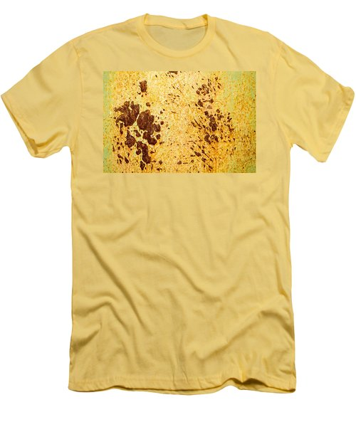 Men's T-Shirt (Slim Fit) featuring the photograph Rust Metal by John Williams