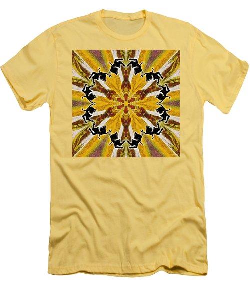Men's T-Shirt (Athletic Fit) featuring the digital art Rustic Lifespring by Derek Gedney