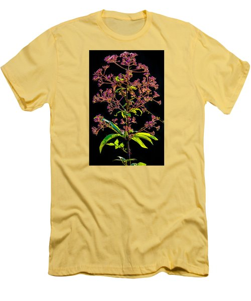 Men's T-Shirt (Slim Fit) featuring the photograph Rustic Weed by Brian Stevens