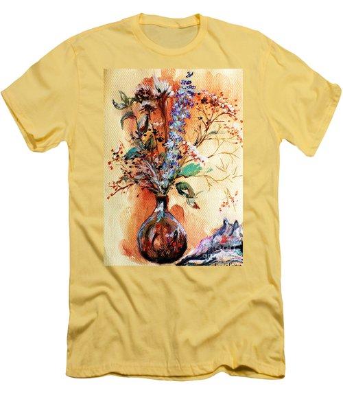 Rusty Arrangement Men's T-Shirt (Athletic Fit)