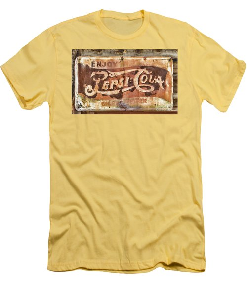 Rusty Pepsi Cola Men's T-Shirt (Athletic Fit)