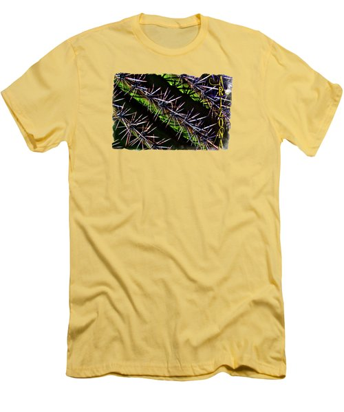 Saguaro Detail No. 28 Men's T-Shirt (Athletic Fit)