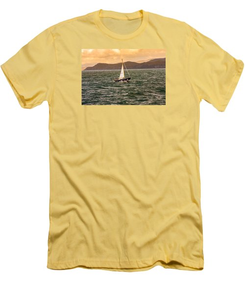 Sailing Outer Hebrides Men's T-Shirt (Athletic Fit)