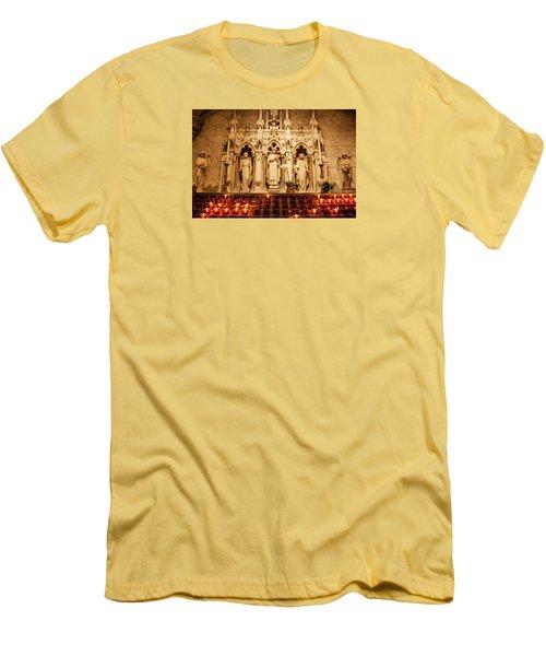 Saint Rose Of Lima Altar Men's T-Shirt (Athletic Fit)