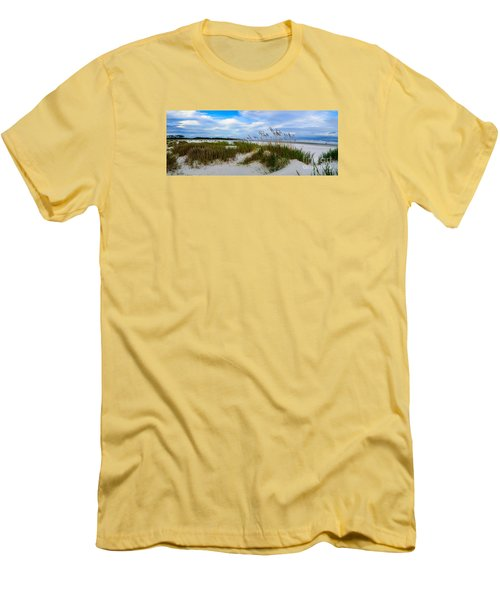 Sand Dunes And Blue Skys Men's T-Shirt (Athletic Fit)