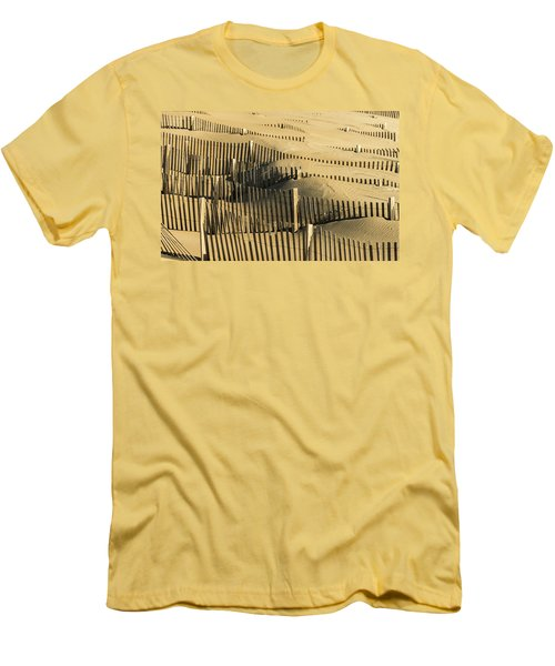 Sand Dunes Of The Outer Banks Men's T-Shirt (Athletic Fit)