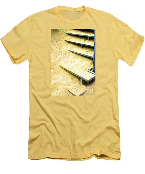 Sandy  Steps Men's T-Shirt (Athletic Fit)