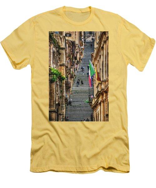 Santa Maria Del Monte Men's T-Shirt (Slim Fit) by Patrick Boening