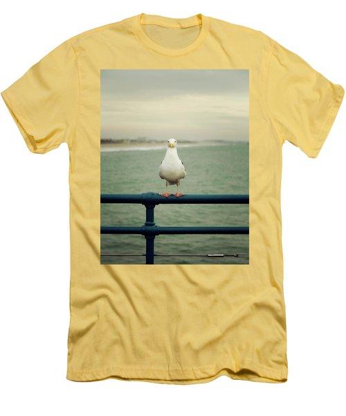 Santa Monica Men's T-Shirt (Athletic Fit)