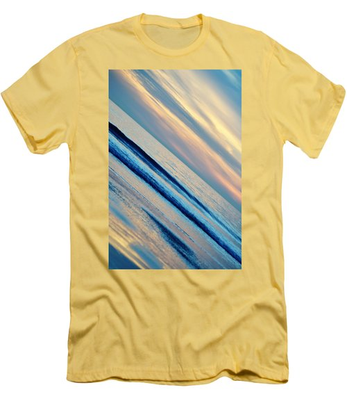 Men's T-Shirt (Slim Fit) featuring the photograph Santa Monica Sunset by Kyle Hanson