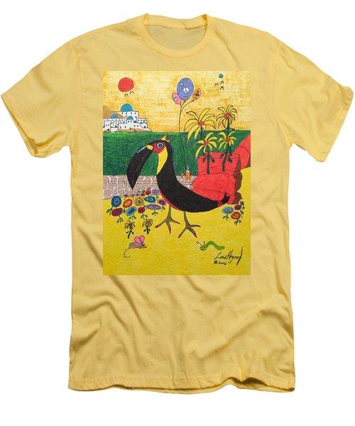 Santorini-esque Men's T-Shirt (Athletic Fit)