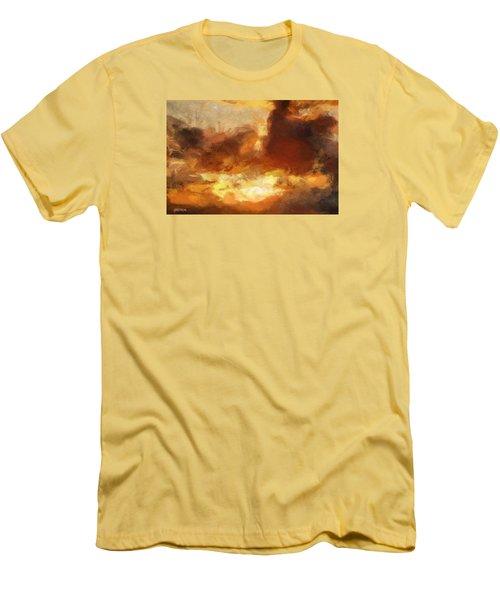 Saulriets Men's T-Shirt (Slim Fit) by Greg Collins