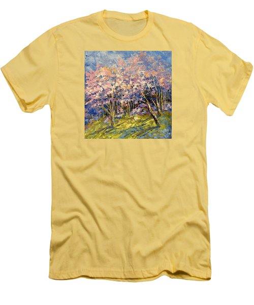 Scented Blooms Men's T-Shirt (Athletic Fit)