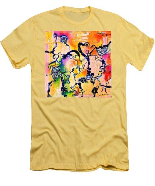Schlieren Chiarascuro Men's T-Shirt (Athletic Fit)