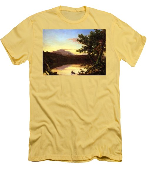 Schroon Lake 1840 Men's T-Shirt (Athletic Fit)