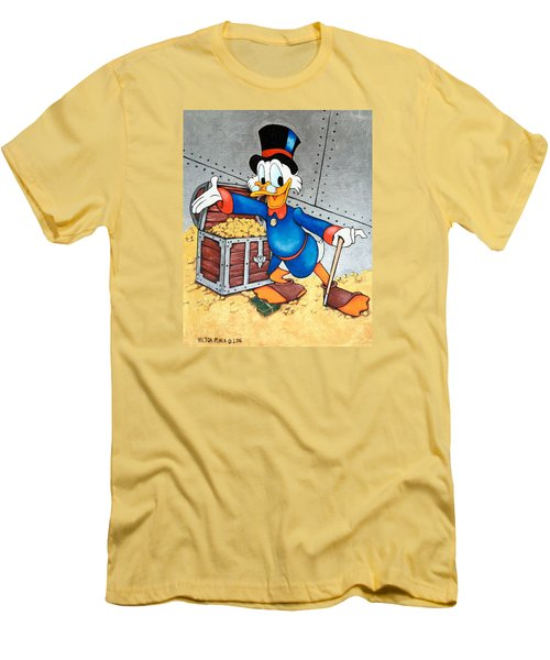Scrooge Mcduck  Men's T-Shirt (Athletic Fit)