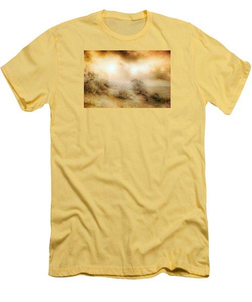 Sea Oats In Paradise Men's T-Shirt (Slim Fit) by Dan Carmichael