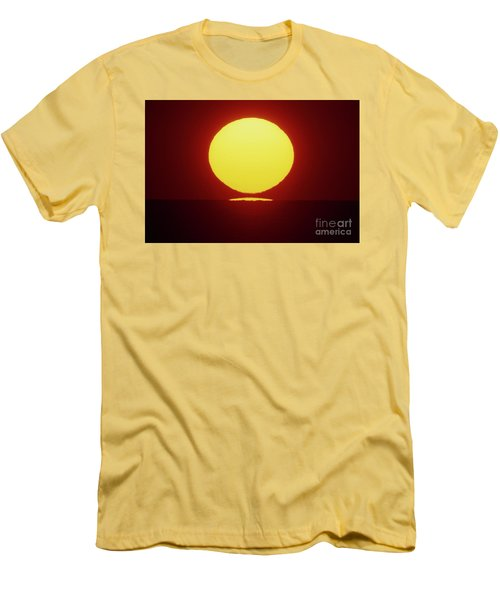 Men's T-Shirt (Slim Fit) featuring the photograph Sea Of Japan by Tatsuya Atarashi