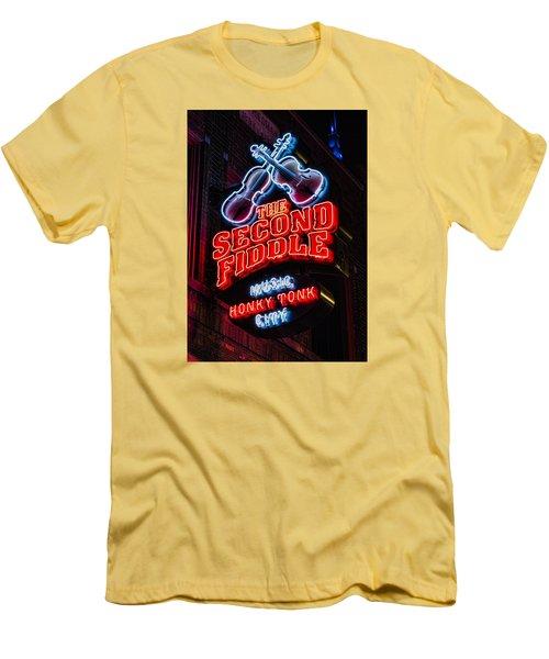 Second Fiddle Men's T-Shirt (Athletic Fit)