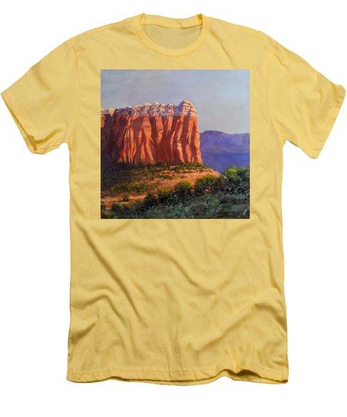 Sedona Red Rocks Men's T-Shirt (Athletic Fit)