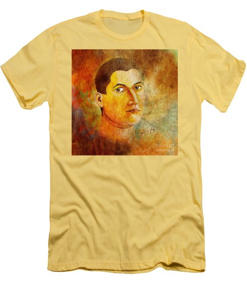 Selfportrait Oil Men's T-Shirt (Athletic Fit)