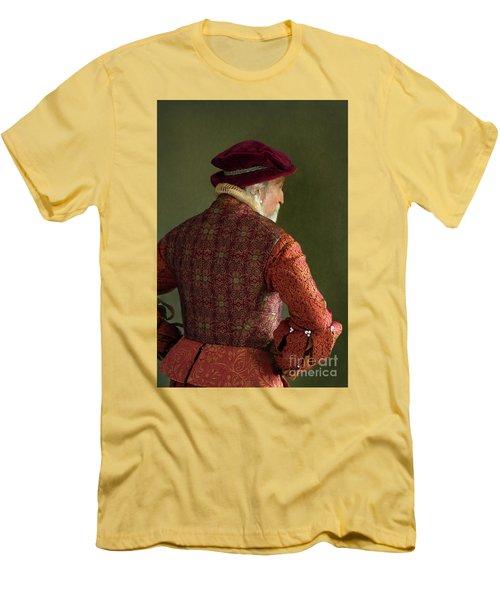 Senior Tudor Man Men's T-Shirt (Slim Fit) by Lee Avison