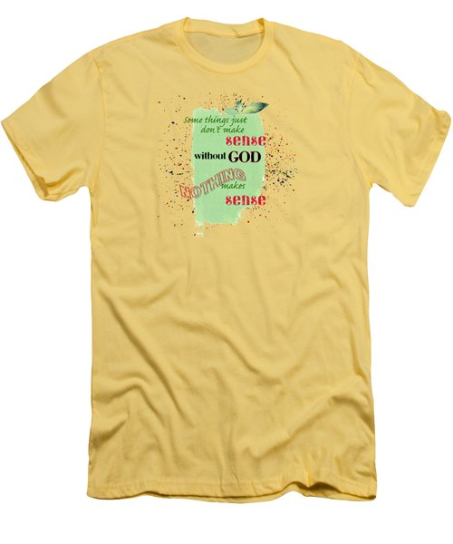 Sense Men's T-Shirt (Slim Fit) by Larry Bishop