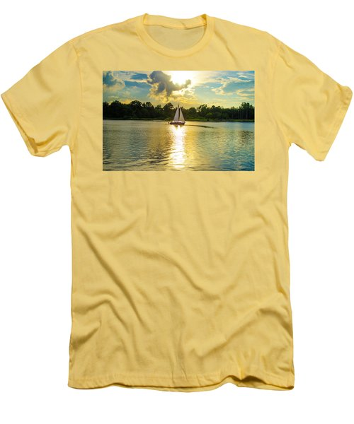 Serenity  Men's T-Shirt (Slim Fit) by Mary Ward