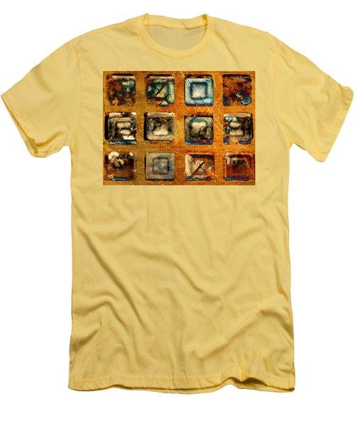 Serial Variation Men's T-Shirt (Slim Fit) by Don Gradner