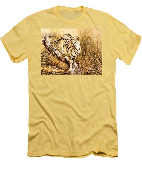 Serval Men's T-Shirt (Athletic Fit)