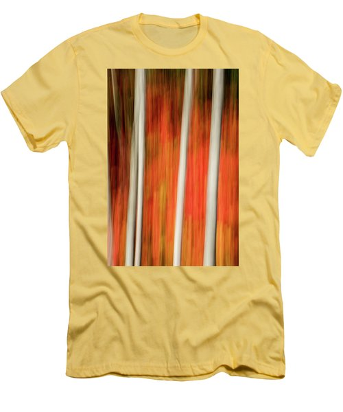 Men's T-Shirt (Slim Fit) featuring the photograph Shades Of Amber And Marmalade  by Dustin LeFevre