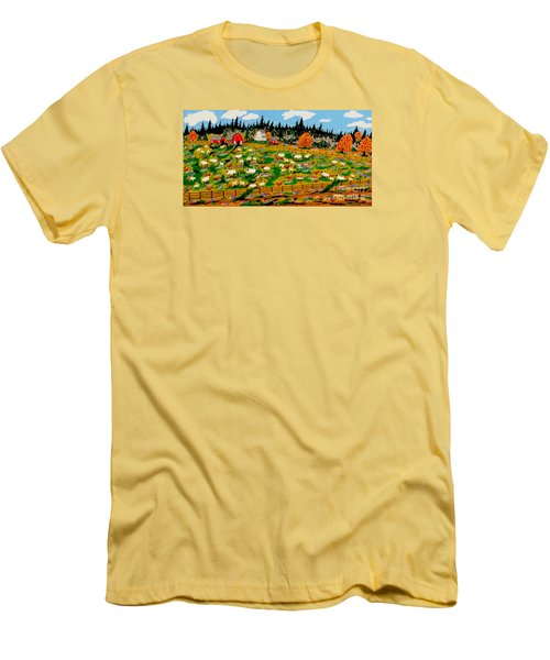 Sheep Farm Men's T-Shirt (Athletic Fit)